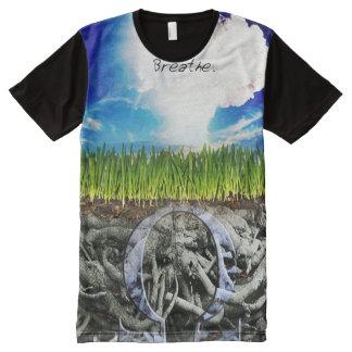 Erstklassiger voller Druck atmen Vape Shirt