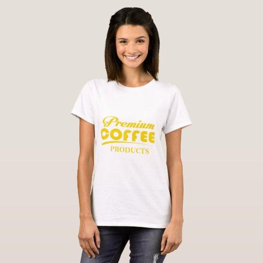 Erstklassiges Coffe T-Shirt