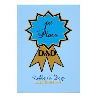 Erstplatz- der Vatertags-Einladung Band-
