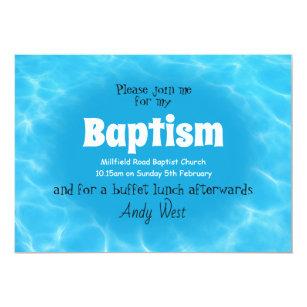 Erwachsene Taufeeinladung Einladung