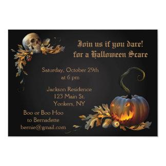 Erwachsenes Halloween-Party Karte