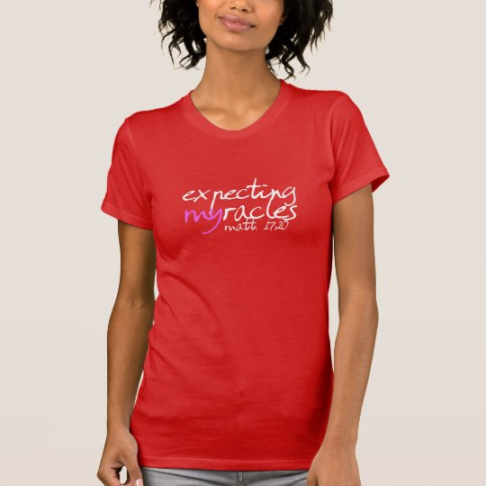 Erwartung Myracles Wms T (rot) T-Shirt