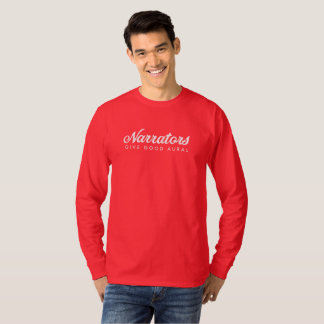 Erzähler geben die lange Hülse T der guten T-Shirt