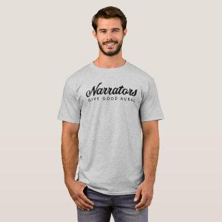 Erzähler geben grundlegendes das t-Netz der guten T-Shirt