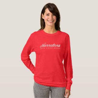 Erzähler geben gute lange auralhülse T (kein Netz) T-Shirt