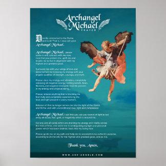 Erzengel-Michael-Gebet Poster