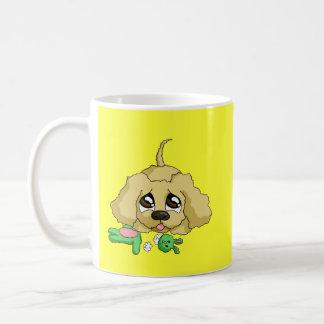 Es brokeded kaffeetasse