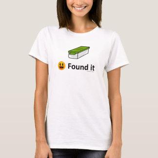 Es gefunden - Geocaching Geocache Ikone T-Shirt