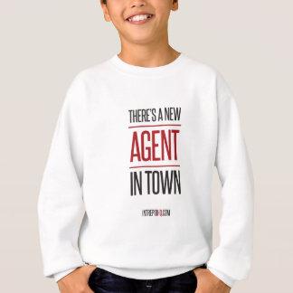Es gibt einen neuen Agenten in der Stadt Sweatshirt
