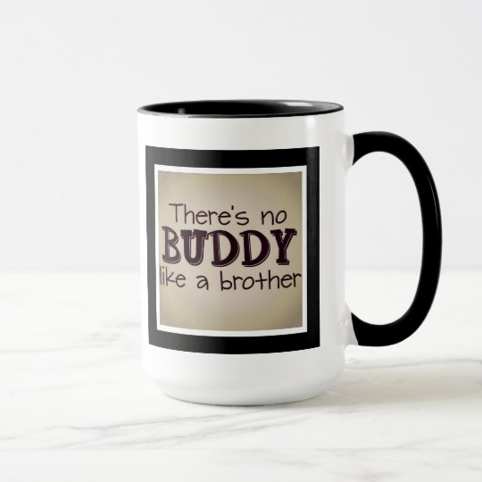 es gibt keinen Freund wie ein Bruder Tasse