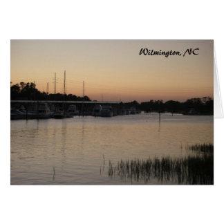 Es gibt keinen Platz wie… Wilmington, NC Karte