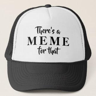 Es gibt MEME für diesen Fernlastfahrer-Hut Truckerkappe