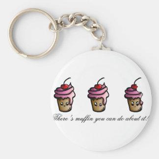 Es gibt Muffin, das Sie über es tun können Schlüsselanhänger