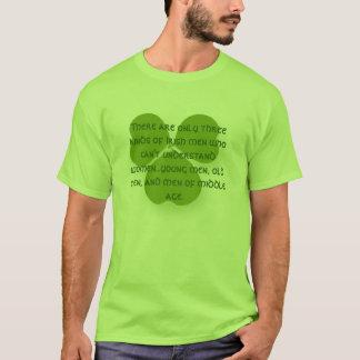 Es gibt nur drei Arten irische Männer, die nicht T-Shirt