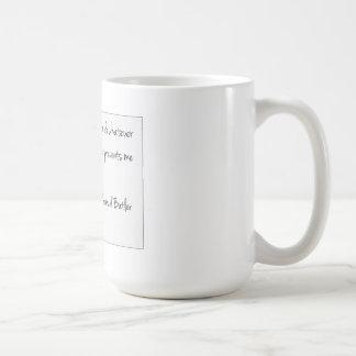 Es ist alle Perspektive…. Kaffeetasse
