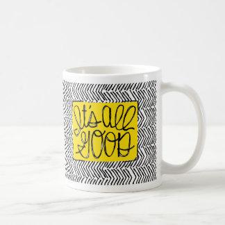 Es ist aller typografische Entwurf des guten Kaffeetasse