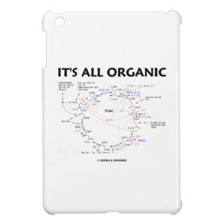 Es ist alles Bio (Krebs Zyklus-Spaß) iPad Mini Cover