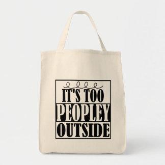 Es ist auch Peopley Außenseite Introverts Tasche
