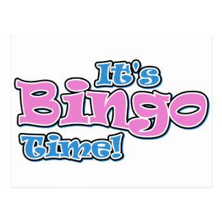 Es ist Bingo-Zeit Postkarten
