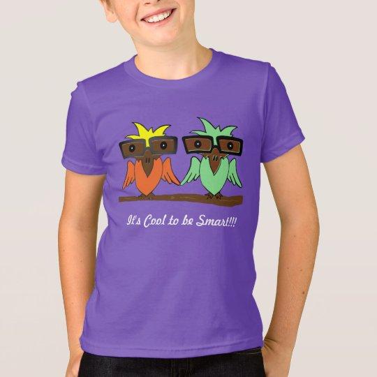 ES ist COOL, INTELLIGENTES KINDERt-shirt ZU SEIN T-Shirt