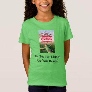Es ist der zwölf Uhr-MitternachtsT - Shirt/die T-Shirt