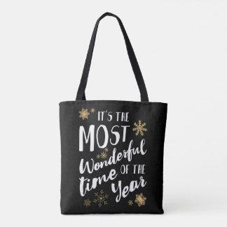Es ist die wunderbarste Zeit des Jahres - Tasche