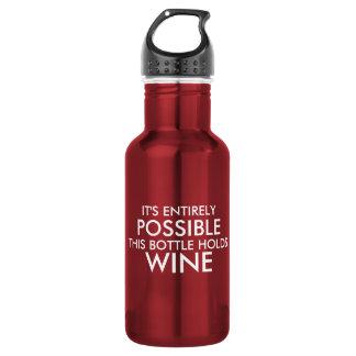 Es ist diese Flasche hält Wein völlig möglich Trinkflasche