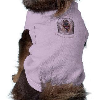 Es ist ein Briard, ein französischer Schäferhund Shirt