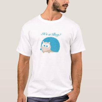 Es ist ein Junge! Igel T-Shirt