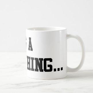 Es ist eine Crew-Sache… Kaffeetasse