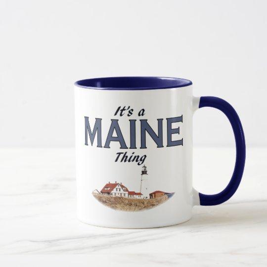 Es ist eine Maine-Sache - Portlandhauptlicht Tasse