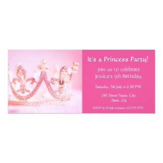 Es ist eine Prinzessin Party! Karte