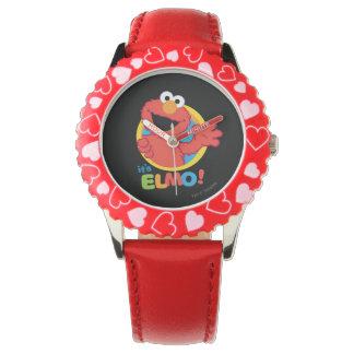 Es ist Elmo Armbanduhr