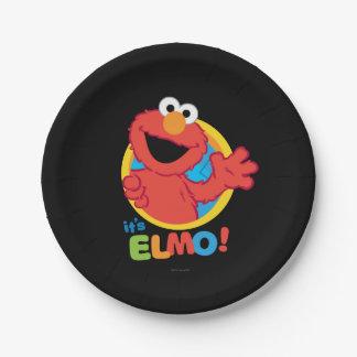 Es ist Elmo Pappteller