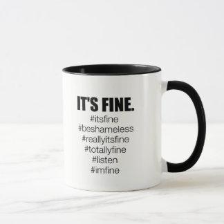 Es ist fein tasse