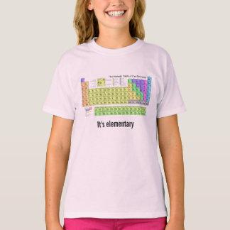 Es ist grundlegender Periodensystem T-Shirt