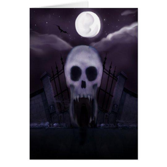 Es ist Halloween - Halloween-Karte Karte