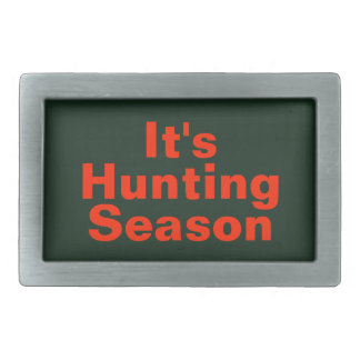 Es ist Jagdsaison-Gürtelschnalle Rechteckige Gürtelschnallen