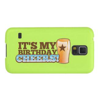 Es ist mein Geburtstag BEIFALL! Biere! Samsung S5 Hüllen
