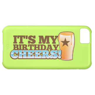 Es ist mein Geburtstag BEIFALL! Biere! iPhone 5C Hülle