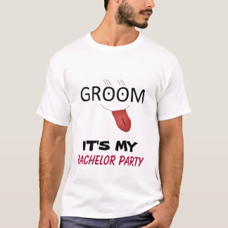 ES ist MEIN JUNGGESELLE-PARTY T - Shirt