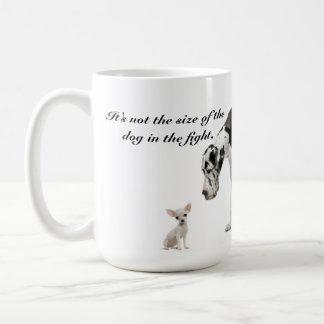 Es ist nicht die Größe des Hundes, der Zählungen… Tasse
