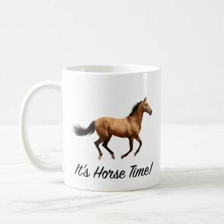 Es ist Pferdezeit Kaffeetasse