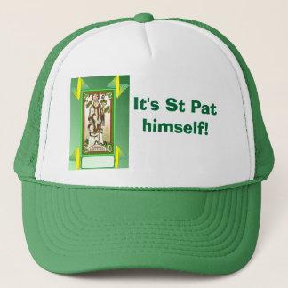 Es ist St. Pat selbst! Truckerkappe