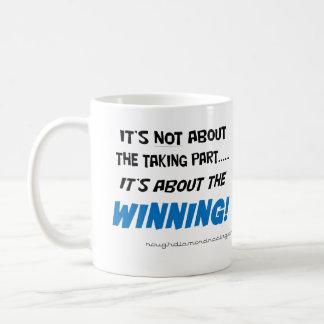 Es ist über die gewinnende Tasse