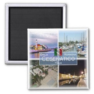 ES Italien # Emilia-Romagna - Cesenatico - Quadratischer Magnet