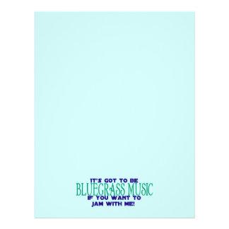 Es muss Bluegrass sein… Bedruckte Flyer