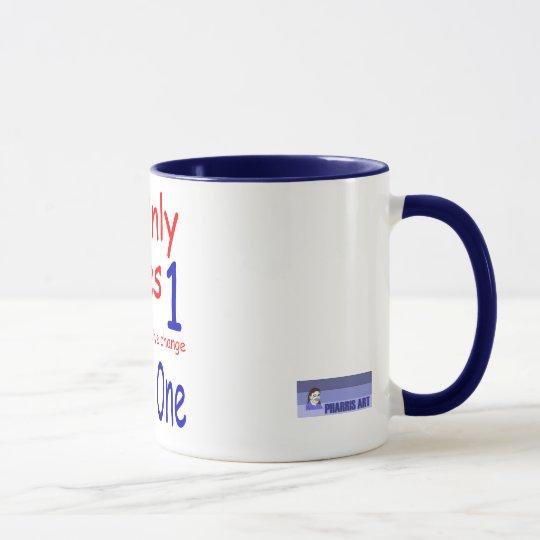 Es nimmt nur eine Wecker-Tasse Tasse