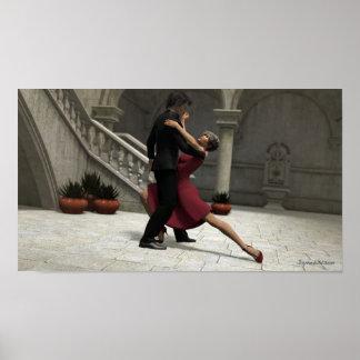 Es nimmt zwei zum Tango-Plakat Poster