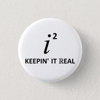 Es wirklich behalten runder button 3,2 cm